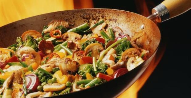 Wok de pollo con verduras nutricion en la red for Cocinar wok sin aceite