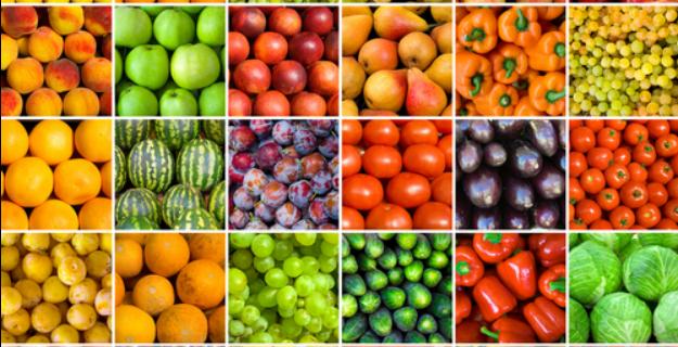 cuál es el secreto de los colores de frutas y verduras nutricion
